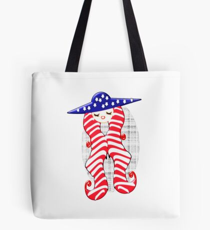 Doll from America (2960 Views) Tote Bag