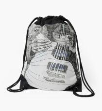 Frank Iero Cross Contour  Drawstring Bag