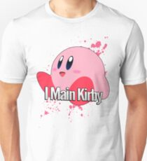 I Main Kirby - Super Smash Bros. T-Shirt