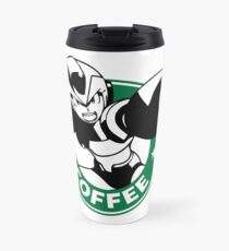 MegaMan X Starbucks Inspired Art Travel Mug