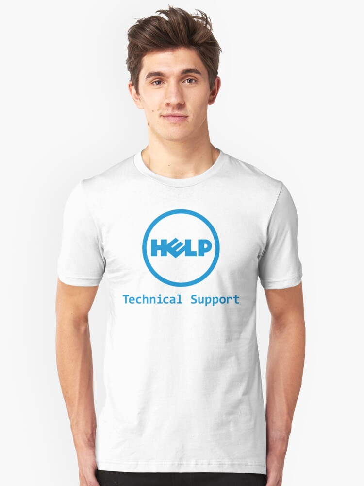 c249a7b4 Funny Dell Parody Logo Computer Tech Support