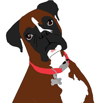 Boxer Dog by np-bestdesigns
