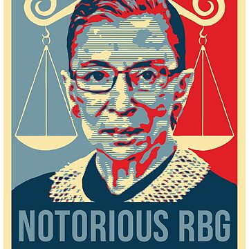 Notorious RBG Ruth Bader Ginsburg by bigtimmystyle