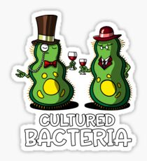 Biology Science Cultured Bacteria Sticker