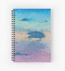 Pink Skies Spiral Notebook
