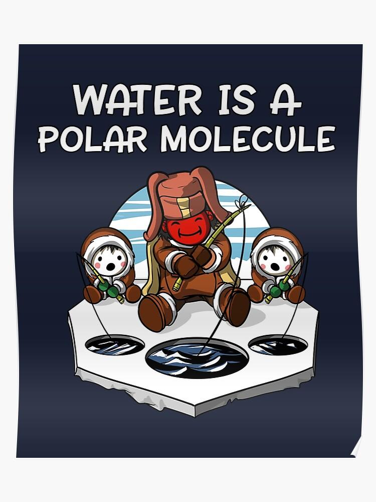 1db826e7 Chemistry Science Funny Polar Molecule Joke