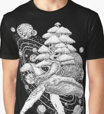 Space Whale Graphic T-Shirt