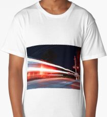 Long exposure train Long T-Shirt