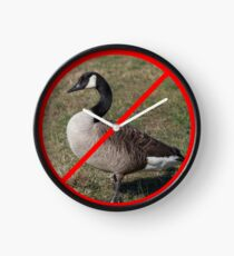 Reloj No gansos permitidos
