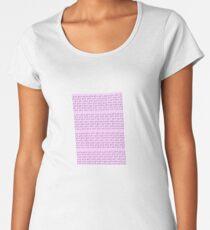 Pink Fishies Women's Premium T-Shirt