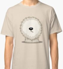 Old English Sheepdog tshirt - Dog Gifts for Sheepdog and Sheep Dog Lovers Classic T-Shirt