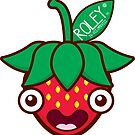 Cute Strawberry by Roley by RoleyShop