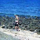*Beachcombing, Williamstown Back Beach* by EdsMum