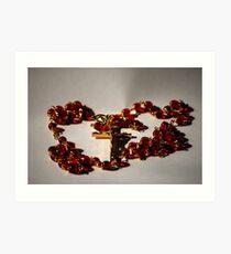 Rosary Art Print