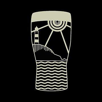 Kinsale Lighthouse Pint by fundog