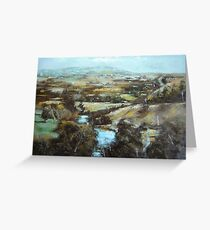 Barrabool Hills Greeting Card