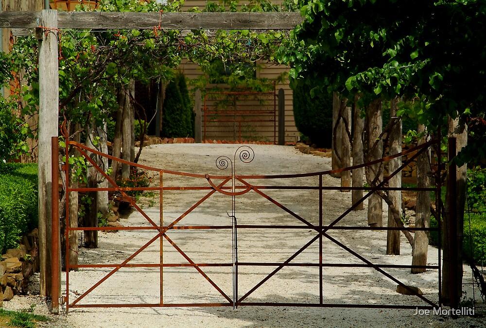 Villa Gate by Joe Mortelliti