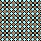 Checkers Geometric Square Pattern Design by Guinevere Saunders