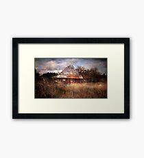 Wattle Flats Framed Print