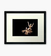 Leaving on a Jet Plane Framed Print