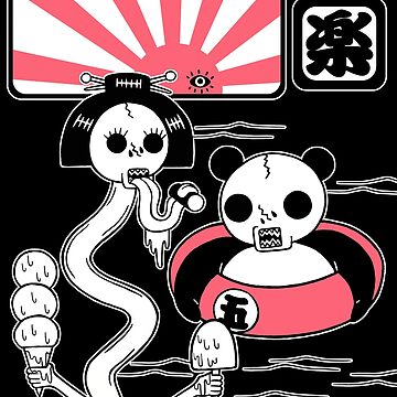 Sea Bathing Yokai (Monsters) by RYURAKUDO