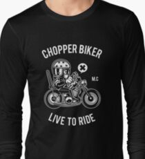 Born to ride at full speed! Long Sleeve T-Shirt