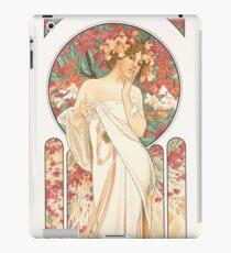 HD. Sylvanis Essence, by Alphonse Mucha HIGH DEFINITION (original colors) iPad Case/Skin