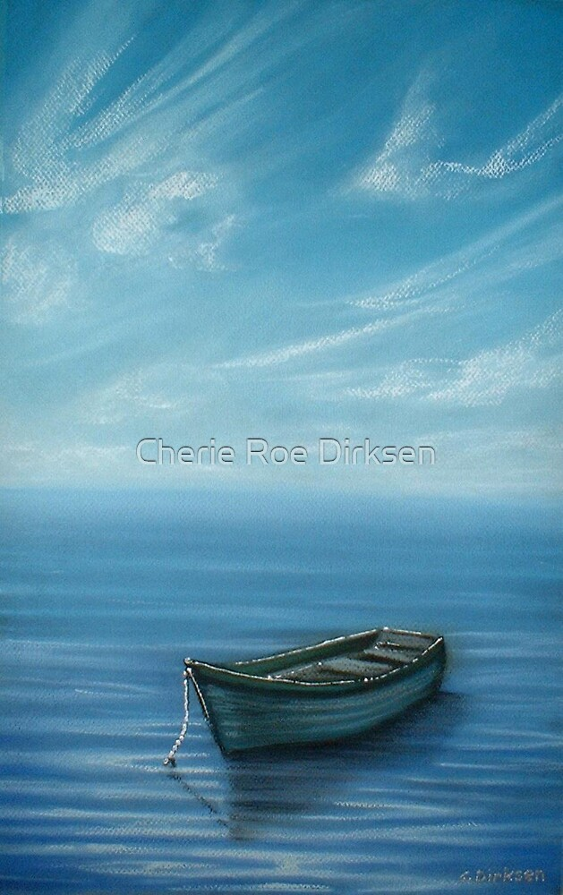 Boat on the Lake by Cherie Roe Dirksen