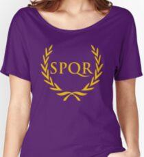 Camiseta ancha Camiseta Camp Jupiter SPQR