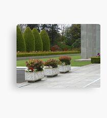 Reihe der Pflanzer, Preston Temple Forecourt Leinwanddruck