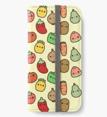 Cute fruit and veg iPhone Wallet/Case/Skin