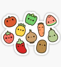 Cute fruit and veg Sticker
