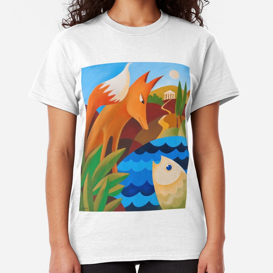 THE FOX AND THE FISH Classic T-Shirt