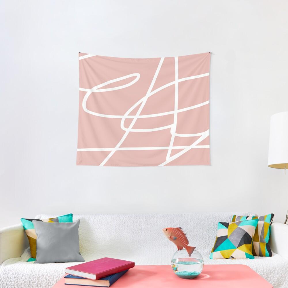 Paint Rose Charm I Tapestry
