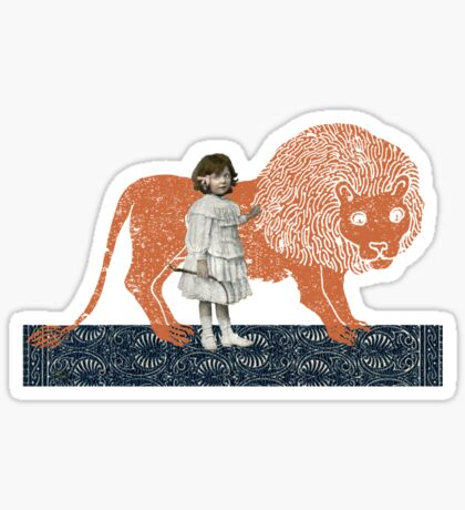 Pet Lion Sticker