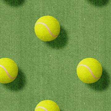 BALLS / Tennis (Grass Court) / Pattern by danielcoulmann
