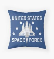 Space force | United Sates Space Force | USA Space Force Throw Pillow