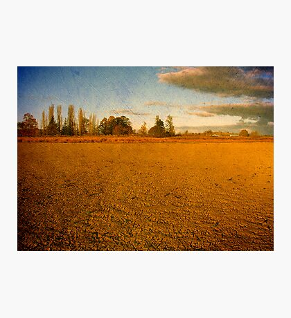 Parched - Dangars Lagoon, Northern Tablelands, NSW, Australia Photographic Print