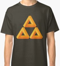 Impossible Triforce  Classic T-Shirt