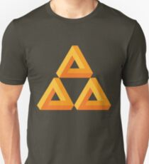 Impossible Triforce  Unisex T-Shirt