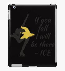 Beutiful and Charming Tshirt Design Ice Skater iPad Case/Skin