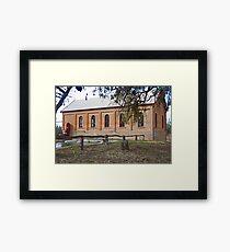 Pschye Pumps Framed Print