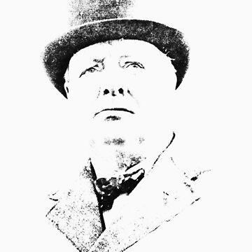 Winston Churchill by jimmyraynes