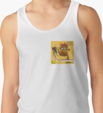 Dr Alfred Shutterlocke (Pattern) - Space Gazer | Giggle | Official Giggle Merch Tank Top