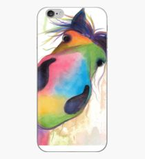 HORSE PRiNT 'MORELLO' BY SHiRLeY MacARTHuR iPhone Case