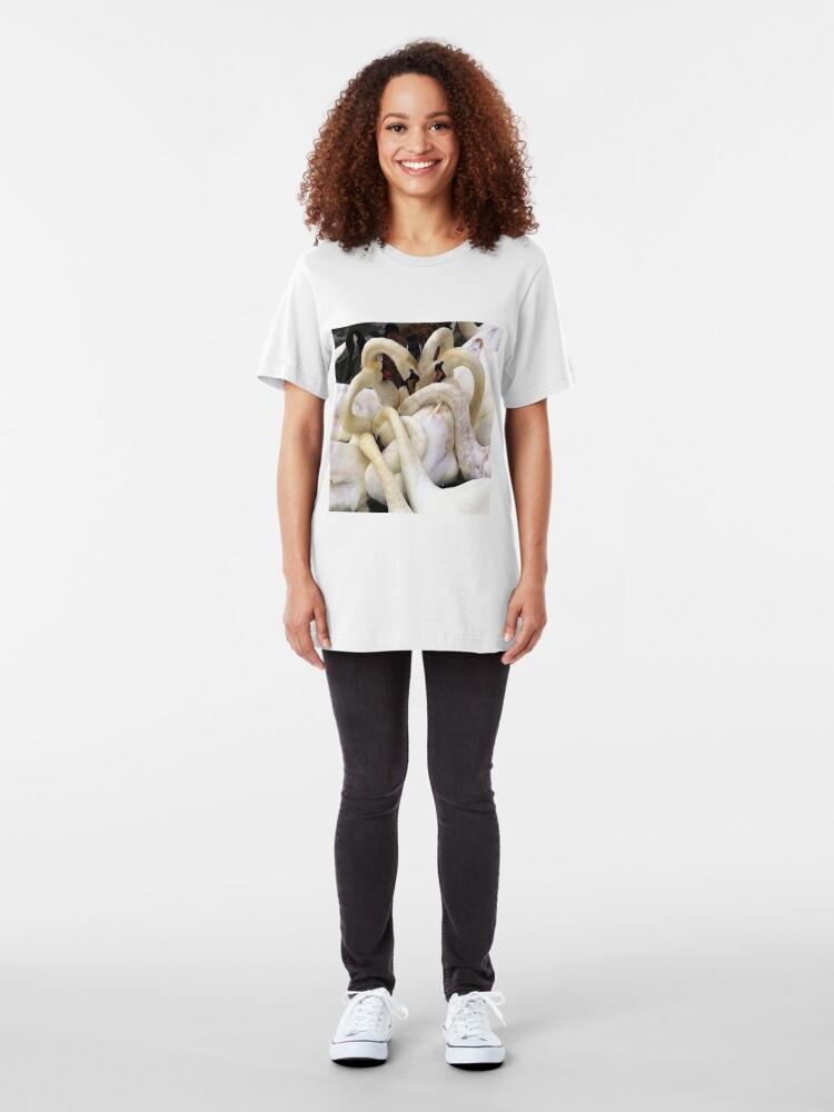 Alternate view of Swans Necks Slim Fit T-Shirt