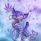 Cuddle me cat by Andrea Tiettje