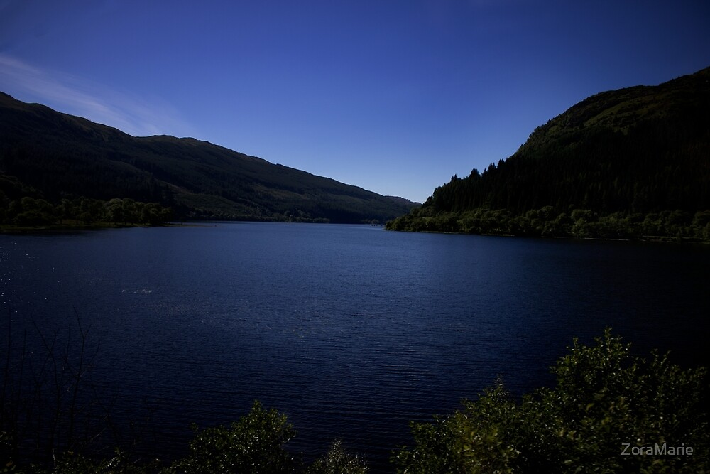 A Loch in the Highlands by ZoraMarie