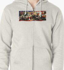 Independence Day Zipped Hoodie