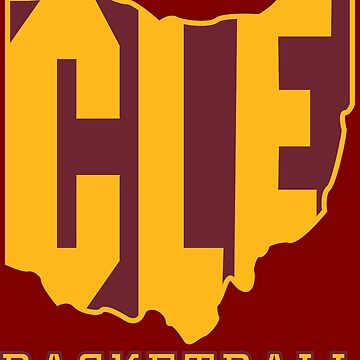 CLE Basketball by KZiegman